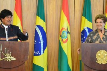 El Presidente  señaló que  YPFB y Petrobras trabajarán en planes de inversión para continuar la exploración de campos. hidrocarburíferos en Bolivia
