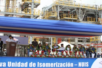 Refinería, Palmasola, YPFB