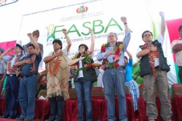 CAMC, Evo Morales, Gabriela Zapata