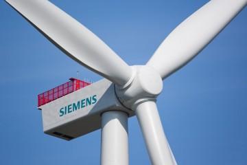 Prototyp der Siemens 4-Megawatt-Windturbine / Protype of the Siemens 4 megawatt wind turbine